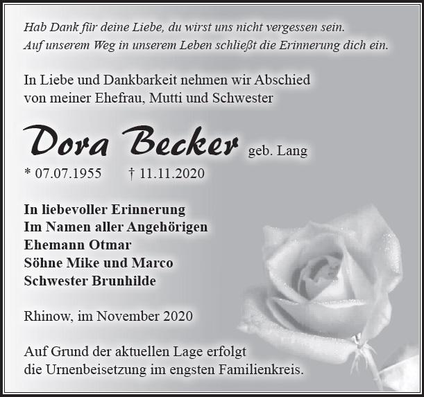 Dora Becker