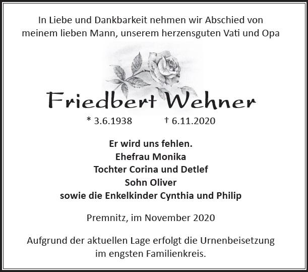 Friedbert Wehner