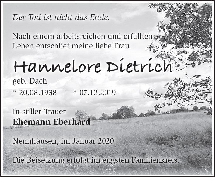 Hannelore Dietrich