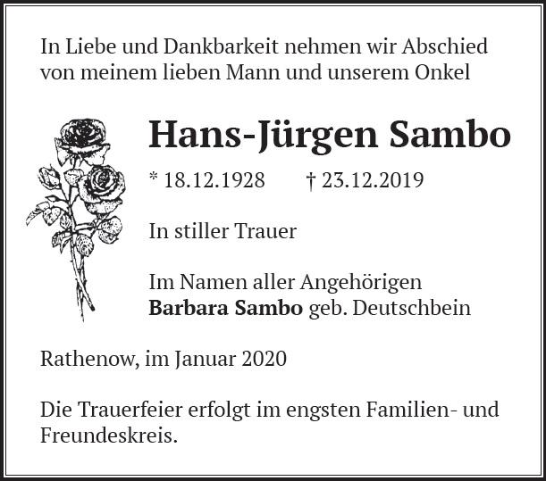 Hans-Jürgen Sambo