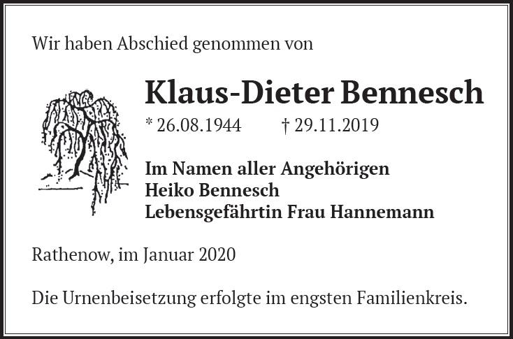 Klaus-Dieter Bennesch