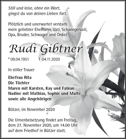 Rudi Gibtner
