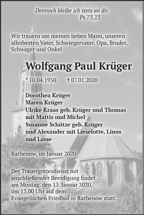 Wolfgang Paul Krüger