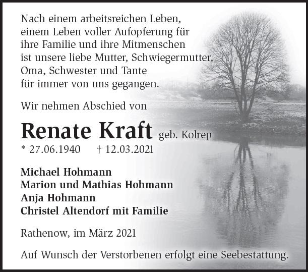 Renate Kraft