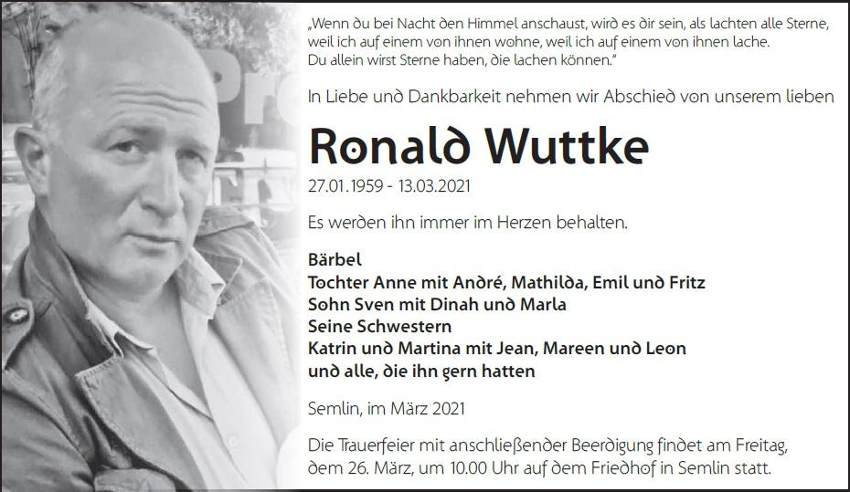 Ronald Wuttke
