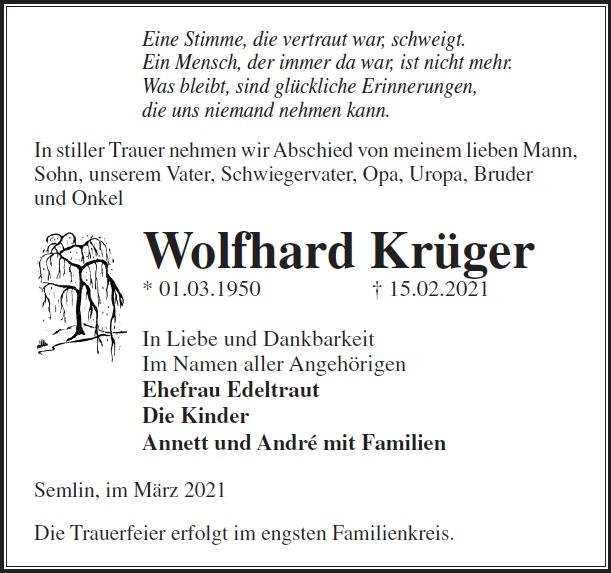Wolfhard Krüger
