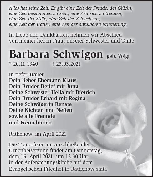 Barbara Schwigon