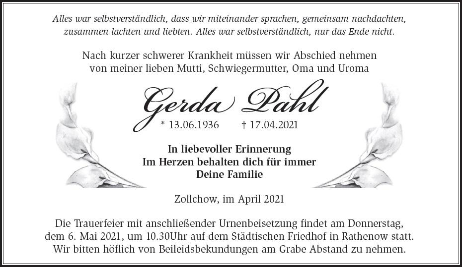 Gerda Pahl