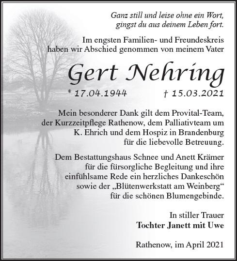 Gert Nehring