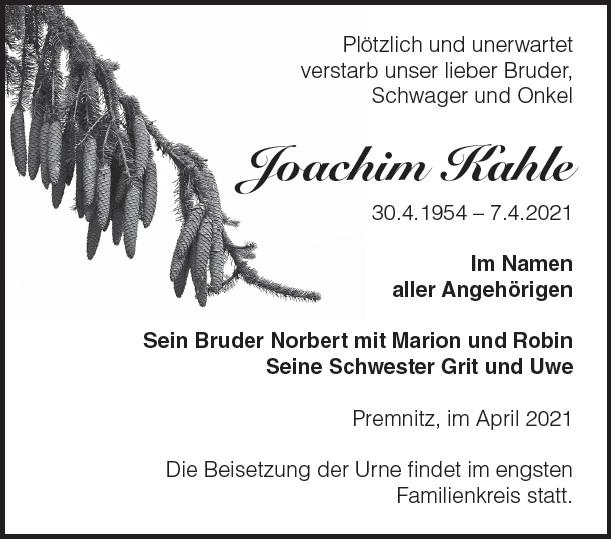 Joachim Kahle