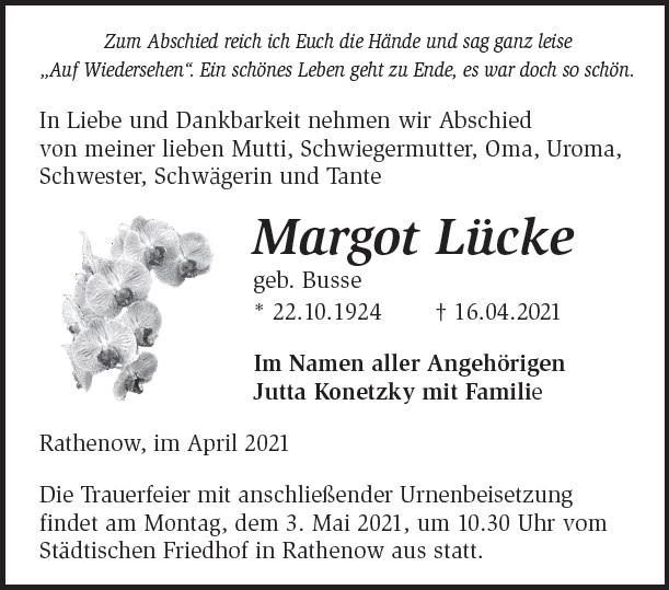 Margot Lücke