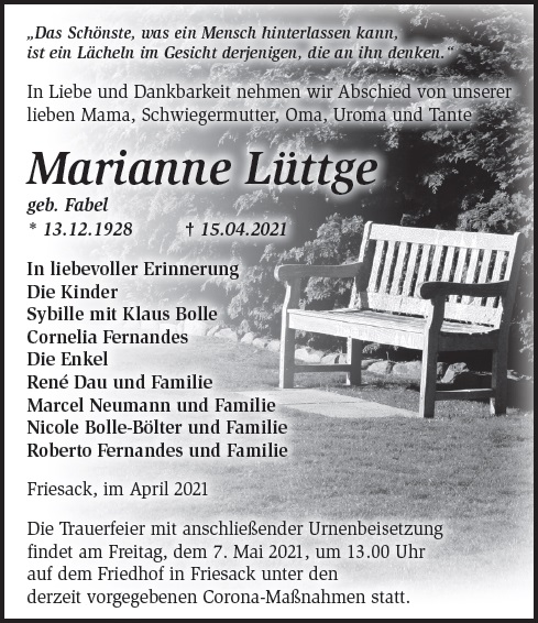 Marianne Lüttge