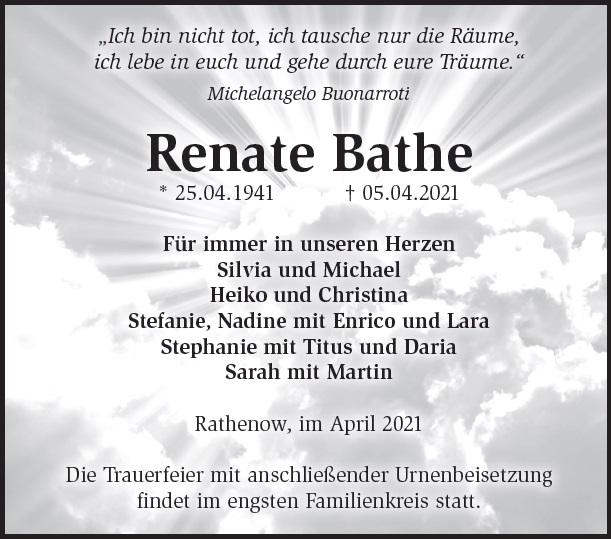 Renate Bathe