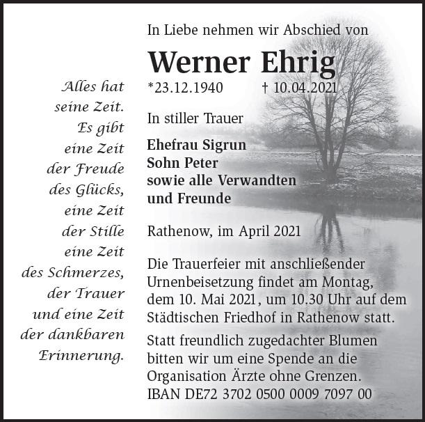 Werner Ehrig