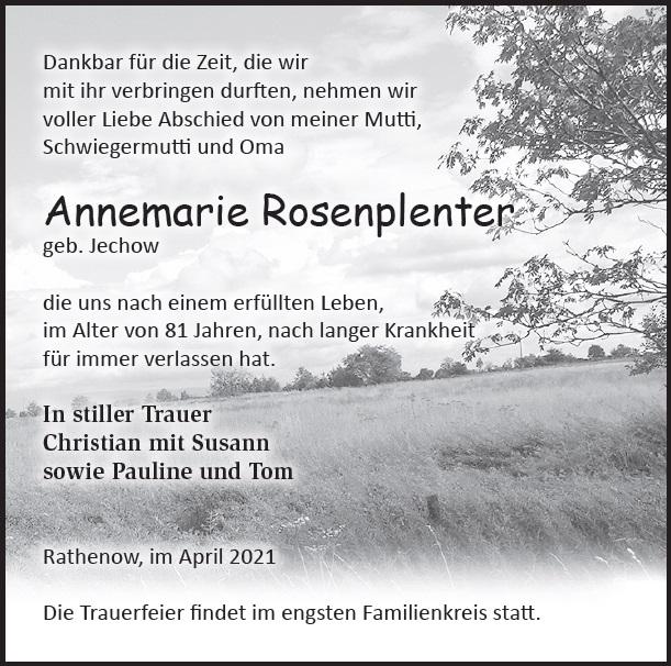 Annemarie Rosenplenter