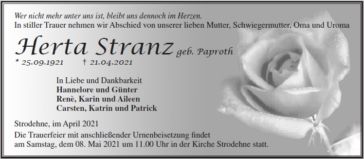 Herta Stranz