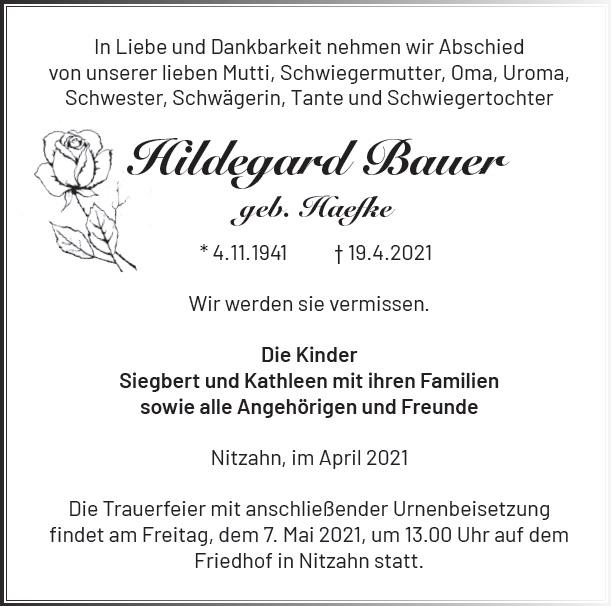 Hildegard Bauer