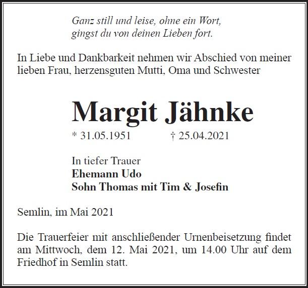 Margit Jähnke