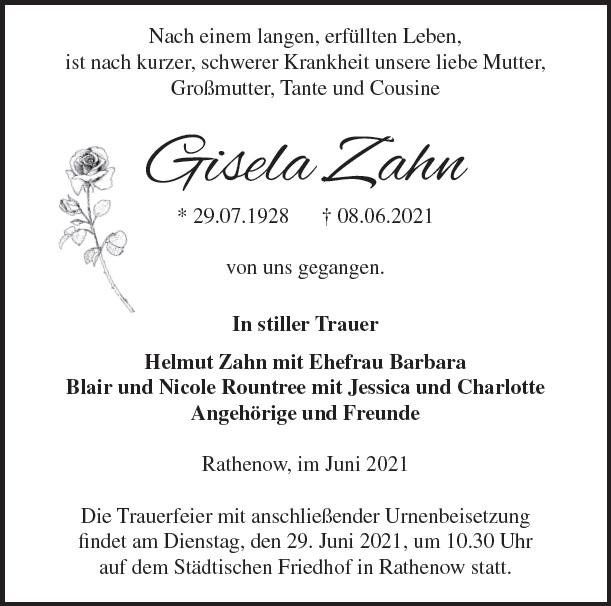 Gisela Zahn