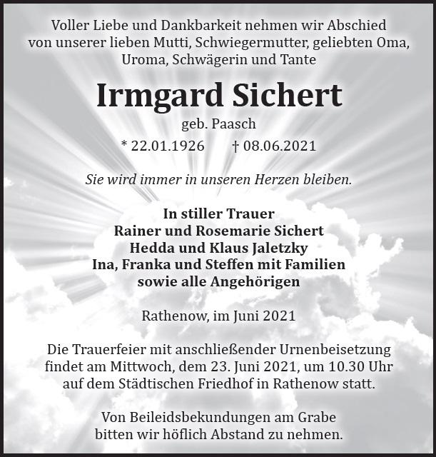 Irmgard Sichert