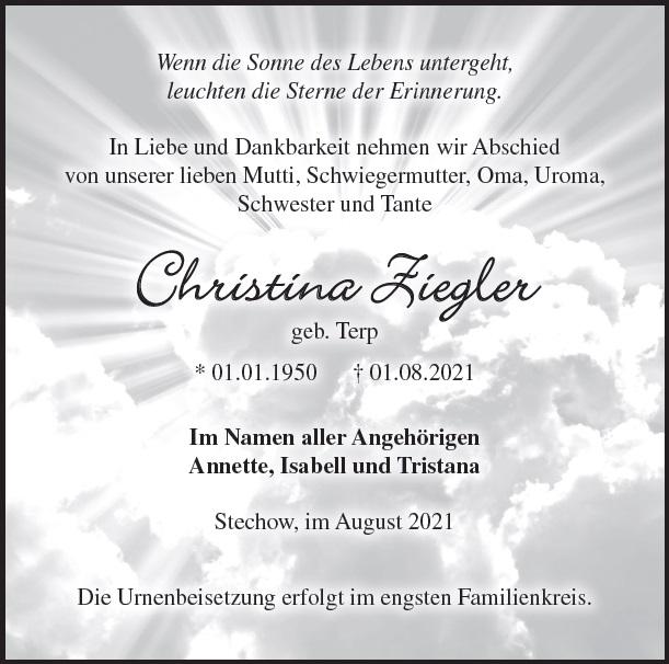 Christina Ziegler