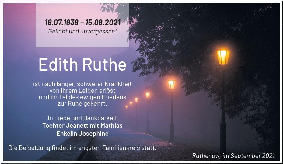 Edith Ruthe
