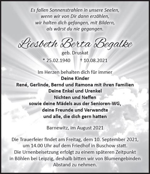 Liesbeth Begalke