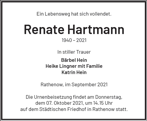 Renate Hartmann