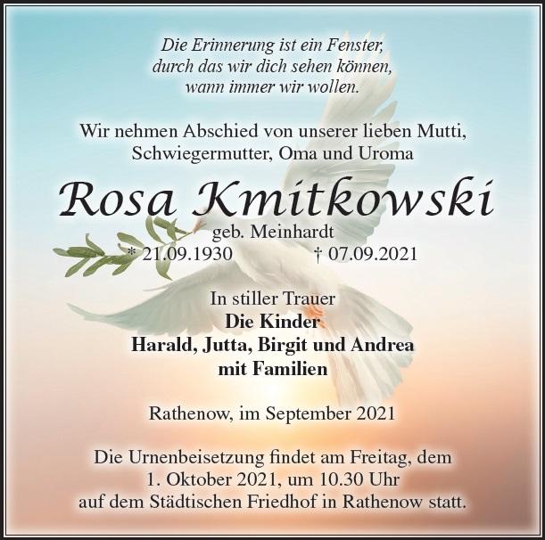 Rosa Kmitkowski