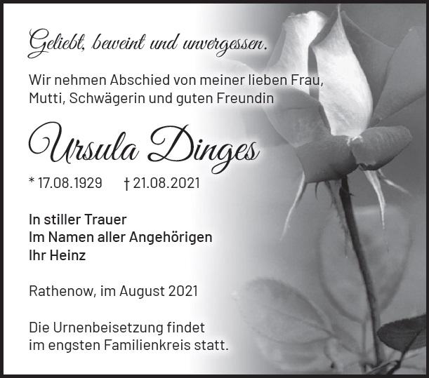 Ursula Dinges