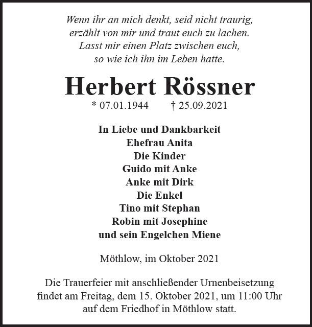 Herbert Rössner