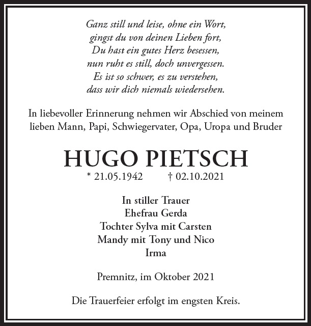 Hugo Pietsch