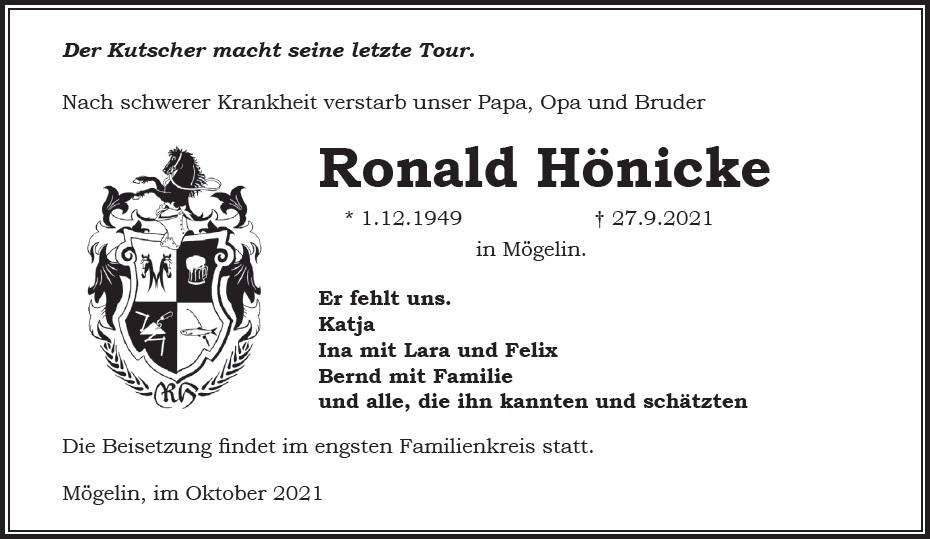 Ronald Hönicke