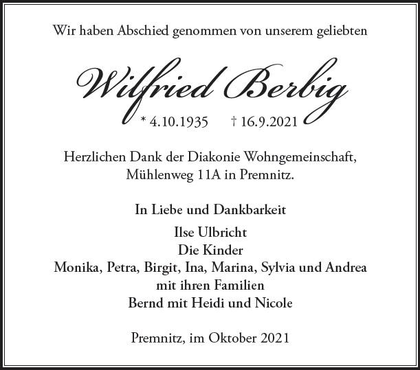 Wilfried Berbig